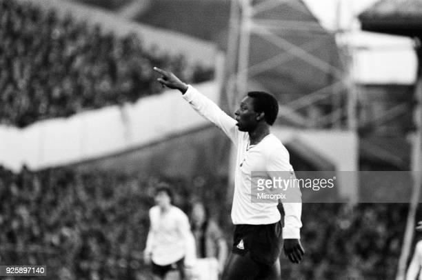 Tottenham Hotspur 2-0 Hull City, FA Fourth Round match at White Hart Lane, Saturday 24th January 1981. Garth Crooks.