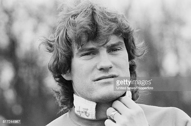 Tottenham Hotspur and England footballer Glenn Hoddle pictured at a training session in London on 10th March 1982