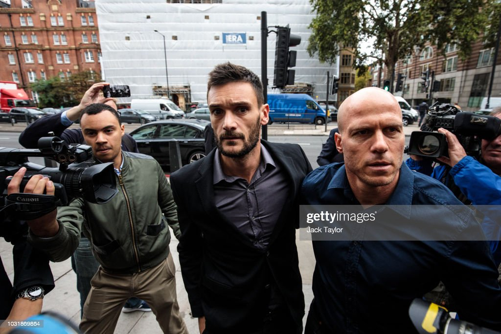 Tottenham Goalkeeper Hugo Lloris Appears In Court Charged With Drink Driving : News Photo
