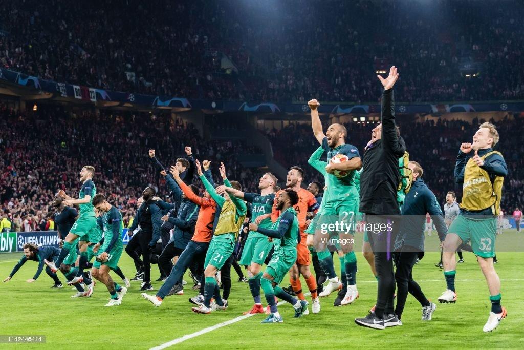 """UEFA Champions League""""Ajax v Tottenham Hotspur FC"""" : News Photo"""