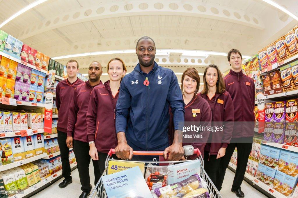Sainsbury's Store Kicks Off Tottenham Hotspur Stadium Scheme : News Photo
