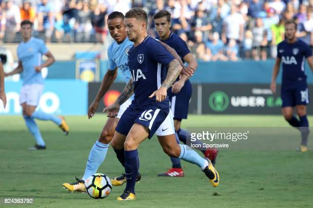 Tottenham Hotspur defender Kieran Trippier during the game between Manchester City and Tottenham Hotspur Manchester City defeated Tottenham by the...