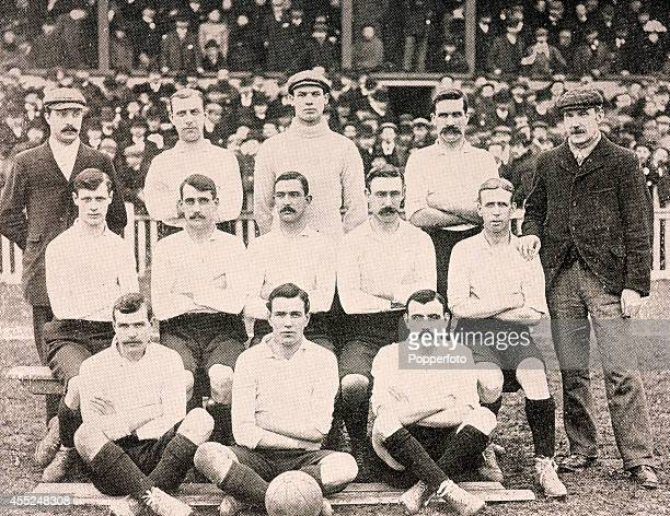 Tottenham Hotspur Football Club winners of the FA Cup against Sheffield United by a score of 31 after a replay at Burnden Park in Bolton on 27th...
