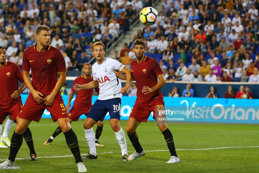 SOCCER: JUL 25 International Champions Cup - Tottenham Hotspur v Roma