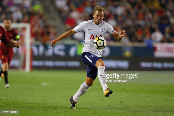 Tottenham Hotspur forward Harry Kane during the first half of the International Champions Cup soccer game between Tottenham Hotspur and Roma on July...