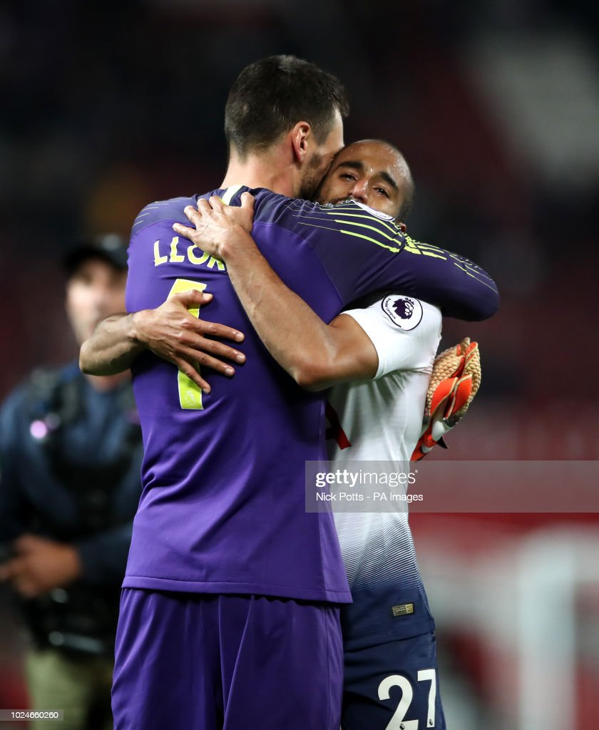 Lucas Moura Hotspurs: Tottenham Hotspur Goalkeeper Hugo Lloris And Tottenham