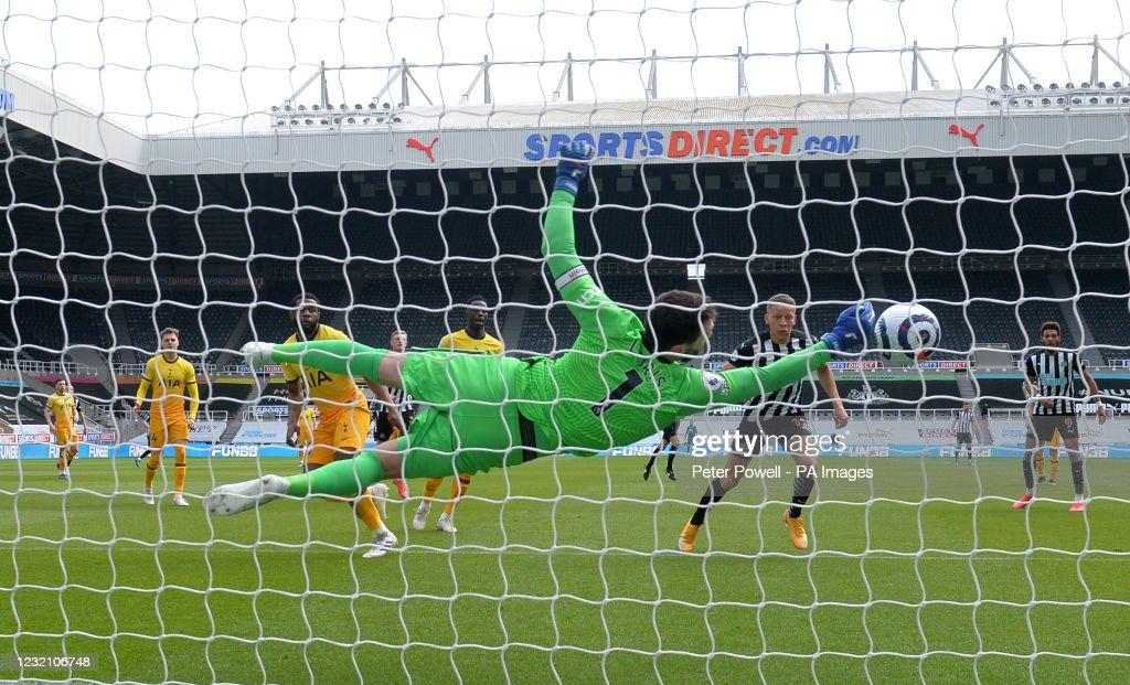 Newcastle United v Tottenham Hotspur - Premier League - St James Park : News Photo