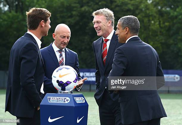 Tottenham Hotspur Manager Andre VillasBoas Crystal Palace Manager Ian Holloway Manchester United Manager David Moyes and Norwich City Manager Chris...