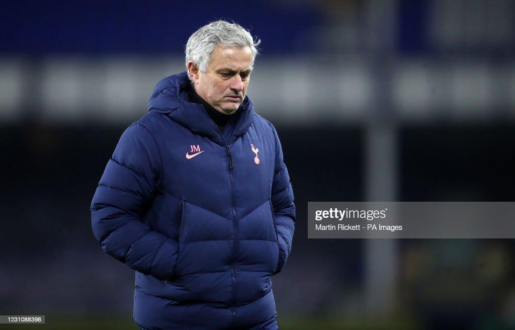 Everton v Tottenham Hotspur - Emirates FA Cup - Fifth Round - Goodison Park : News Photo