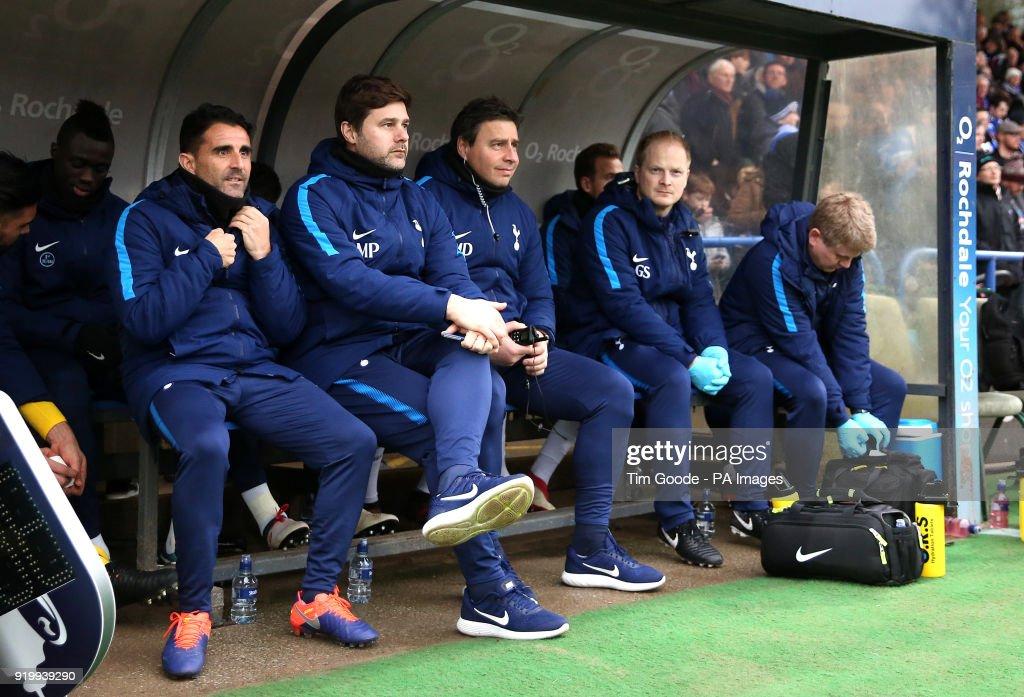 Tottenham Hotspur Manager Mauricio Pochettino And His Backroom Staff News Photo Getty Images