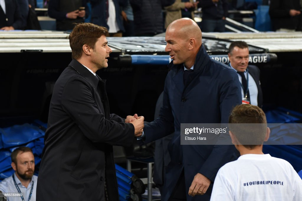 Real Madrid v Tottenham Hotspur - UEFA Champions League : News Photo