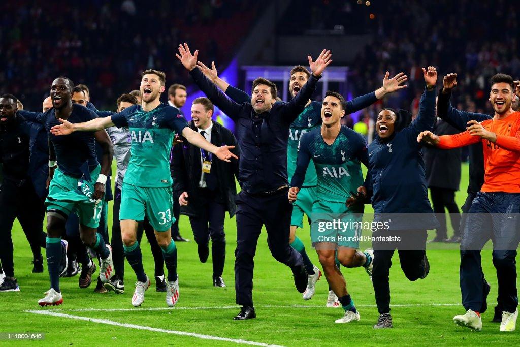 Ajax v Tottenham Hotspur - UEFA Champions League Semi Final: Second Leg : ニュース写真