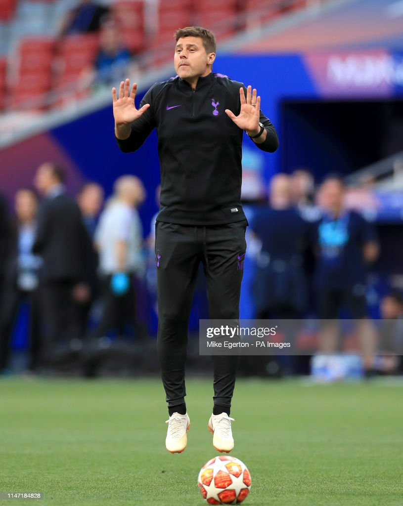 Tottenham Hotspur Manager Mauricio Pochettino During A Training News Photo Getty Images