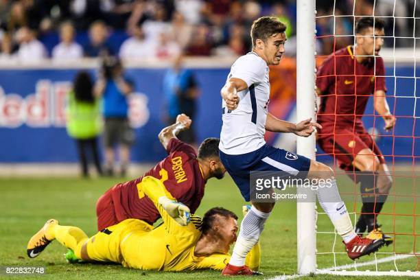 Tottenham Hotspur midfielder Harry Winks scores a goal the first goal for Tottenham Hotspur to make it 21 during the second half of the International...