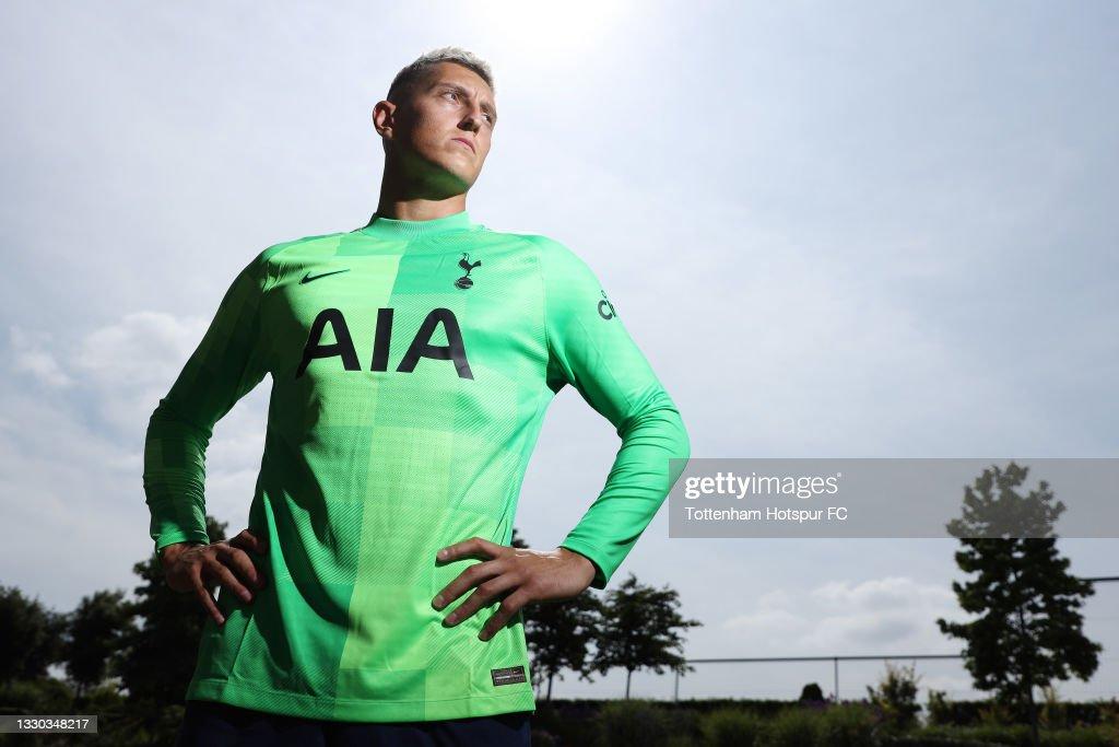 Tottenham Hotspur Unveil New Signing Pierluigi Gollini : News Photo