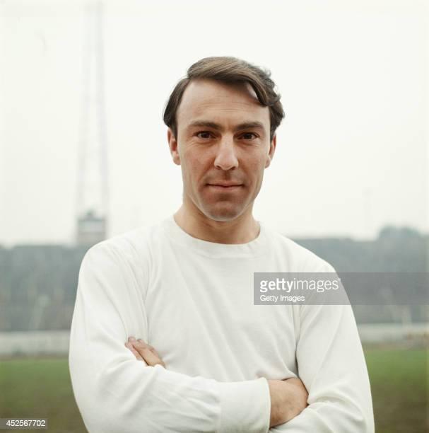 Tottenham Hotspur player Jimmy Greaves looks on circa 1962.