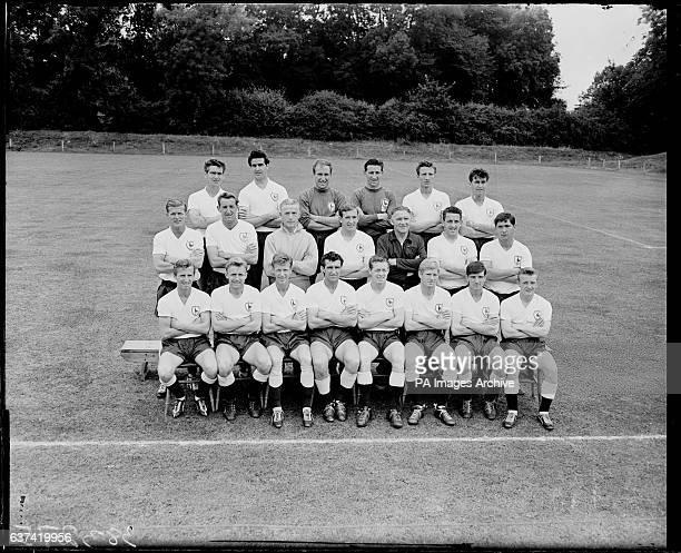 Tottenham Hotspur squad 196061 Tottenham Hotspur Team Group Ron Henry Maurice Norman John Hollowbread Bill Brown Mel Hopkins and Kenneth Barton Peter...