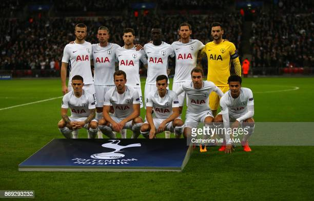 Tottenham Hotspur team group during the UEFA Champions League group H match between Tottenham Hotspur and Real Madrid at Wembley Stadium on November...