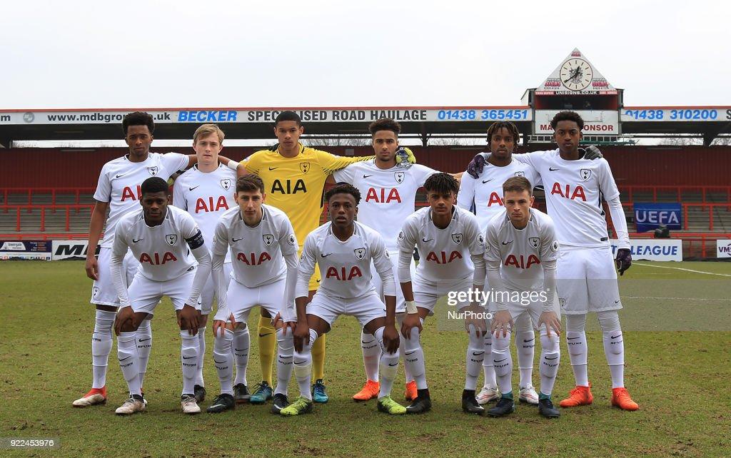Tottenham Hotspur U19s and AS Monaco U19s - UEFA Youth League - Round 16 : Nachrichtenfoto