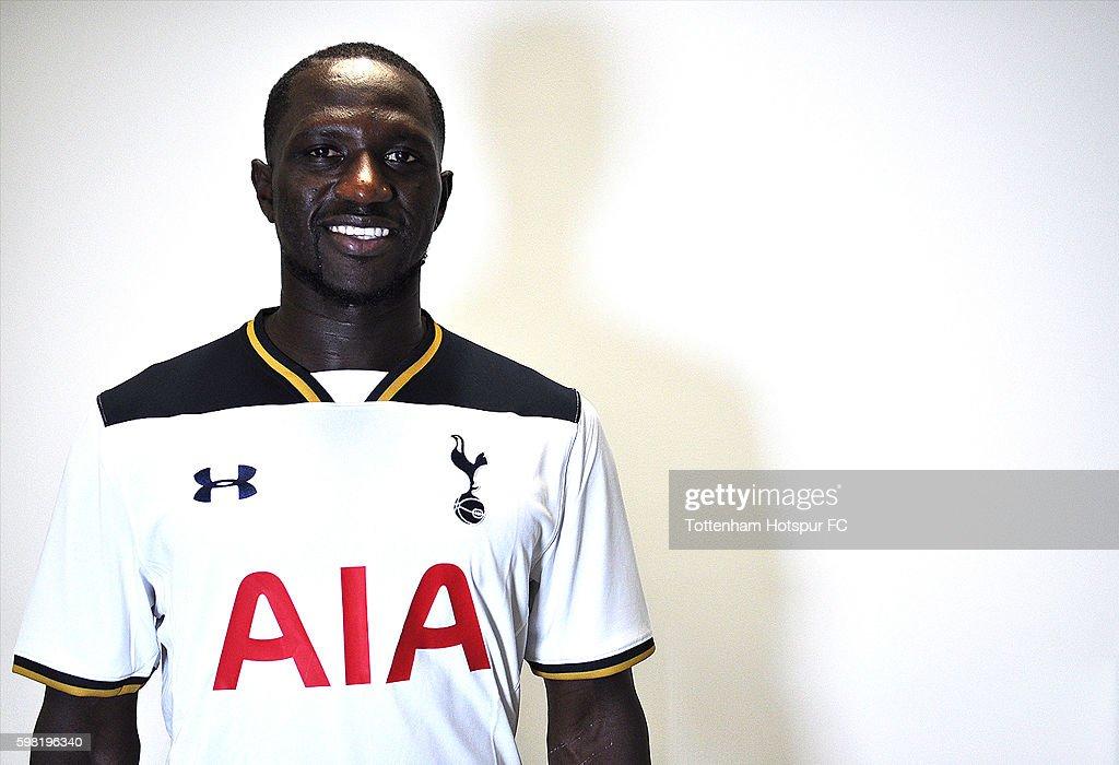 Tottenham Hotspur Unveil New Signing Moussa Sissoko : News Photo