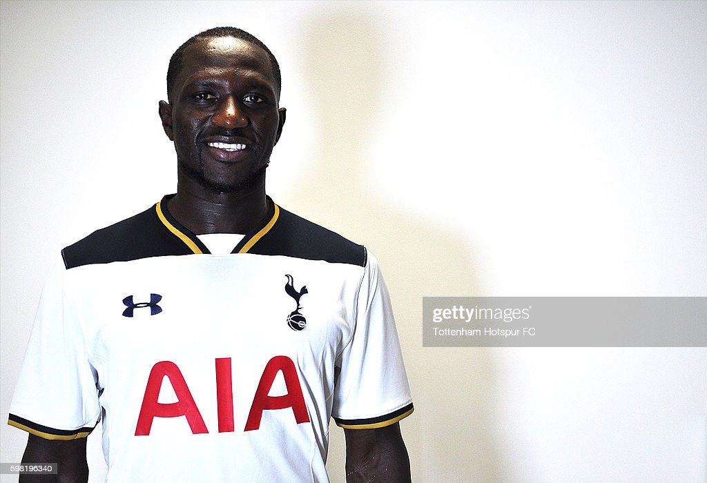 Tottenham Hotspur unveil new signing Moussa Sissoko on August 31, 2016 in Enfield, England.