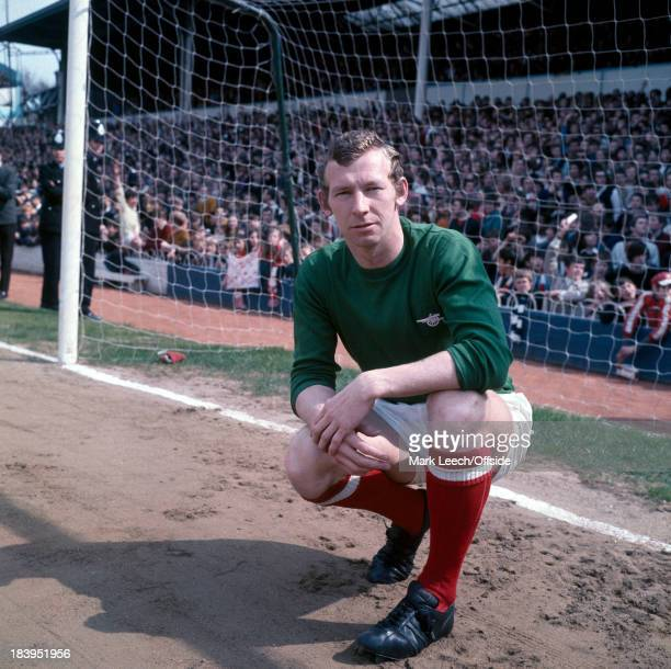 Tottenham Hotspur v Arsenal Arsenal goalkeeper Bob Wilson without gloves