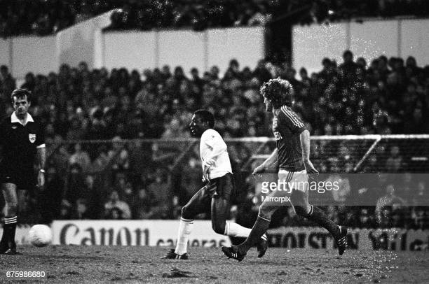 Tottenham Hotspur v Ipswich Town league match at White Hart Lane January 1984 Garth Crooks Final score Tottenham Hotspur 20 Ipswich Town