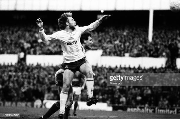 Tottenham Hotspur v Ipswich Town league match at White Hart Lane January 1984 Steve Archibald Final score Tottenham Hotspur 20 Ipswich Town