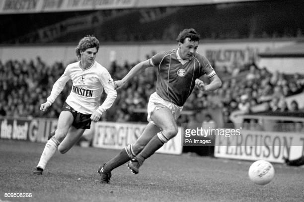 Tottenham Hotspur's Ally Dick chases Birmingham City's Mark McCarrick