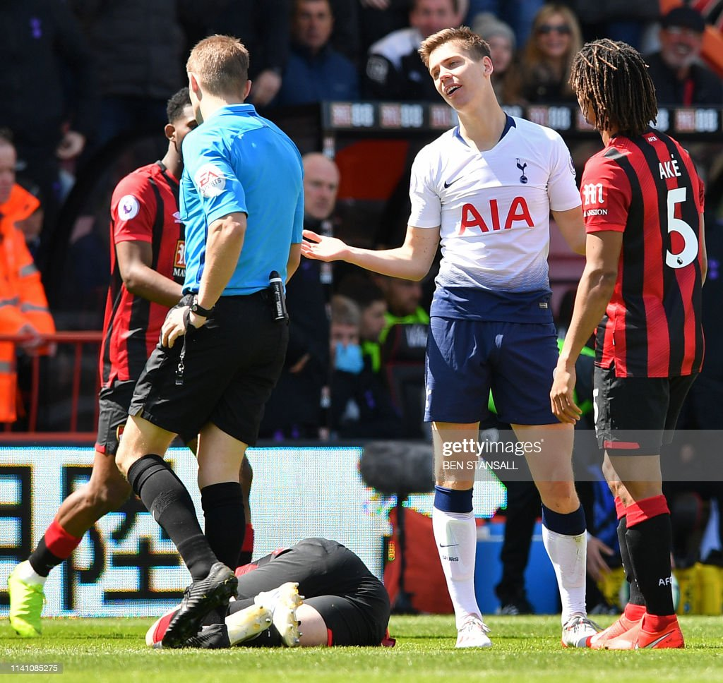 FBL-ENG-PR-BOURNEMOUTH-TOTTENHAM : News Photo