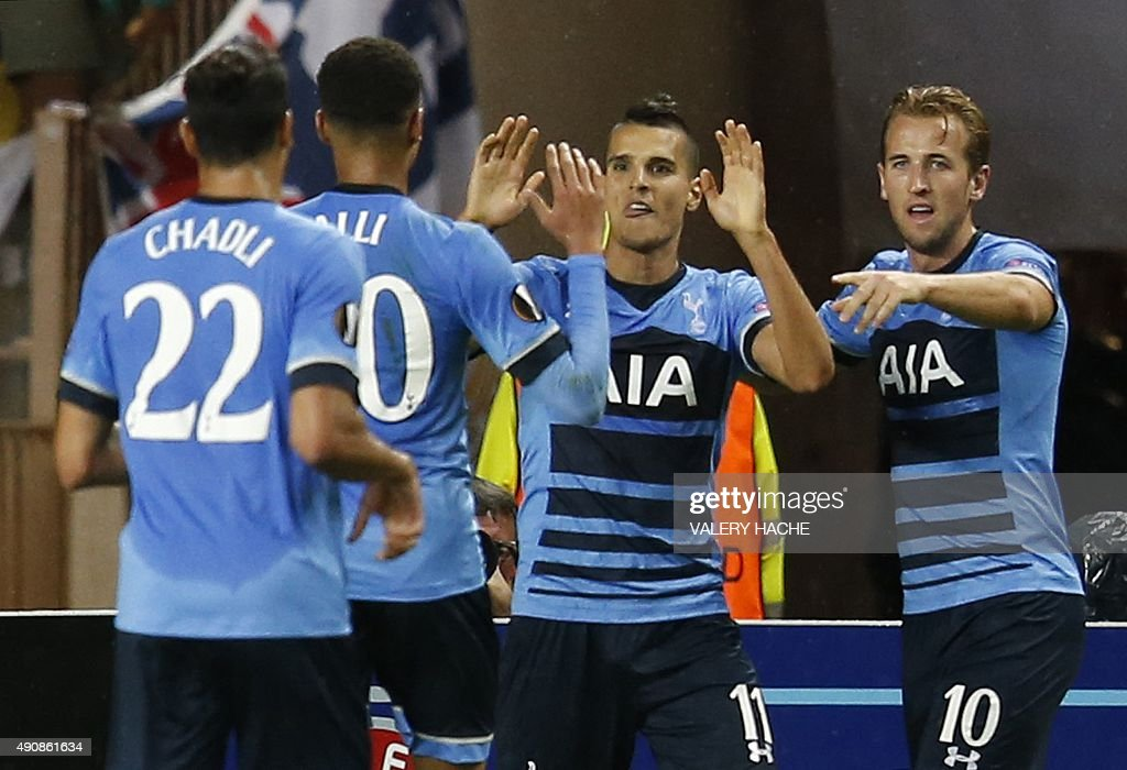 FBL-EUR-C3-MONACO-TOTTENHAM : News Photo