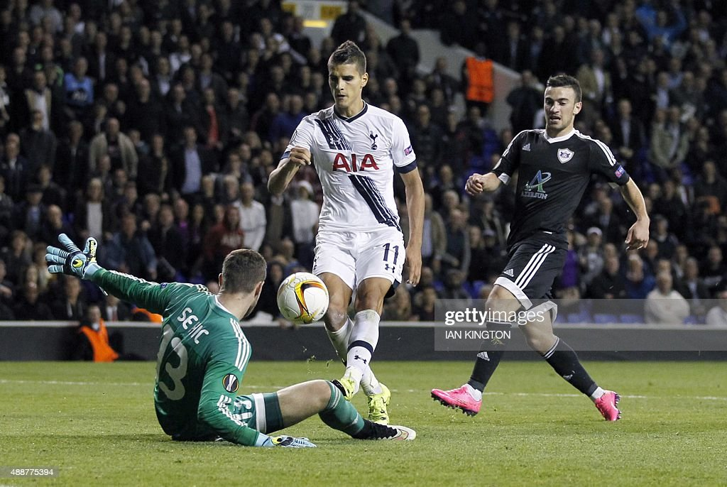 FBL-EUR-C3-TOTTENHAM-QARABAG : News Photo