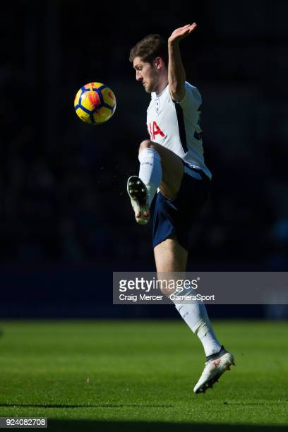 Tottenham Hotspur's Ben Davies in action during the Premier League match between Crystal Palace and Tottenham Hotspur at Selhurst Park on February 25...