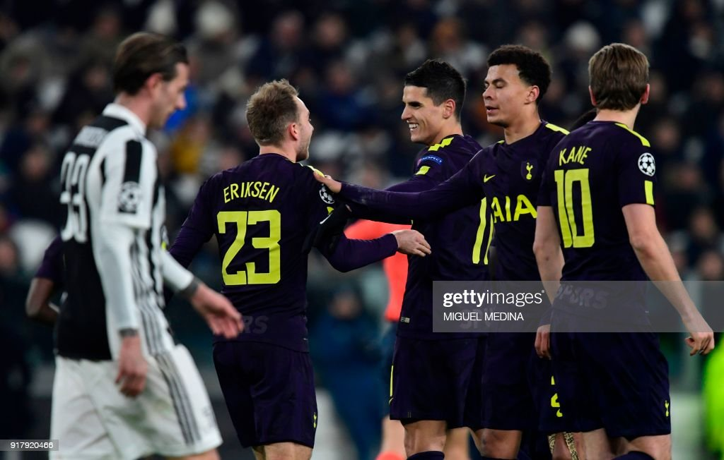 FBL-EUR-C1-JUVENTUS-TOTTENHAM : News Photo