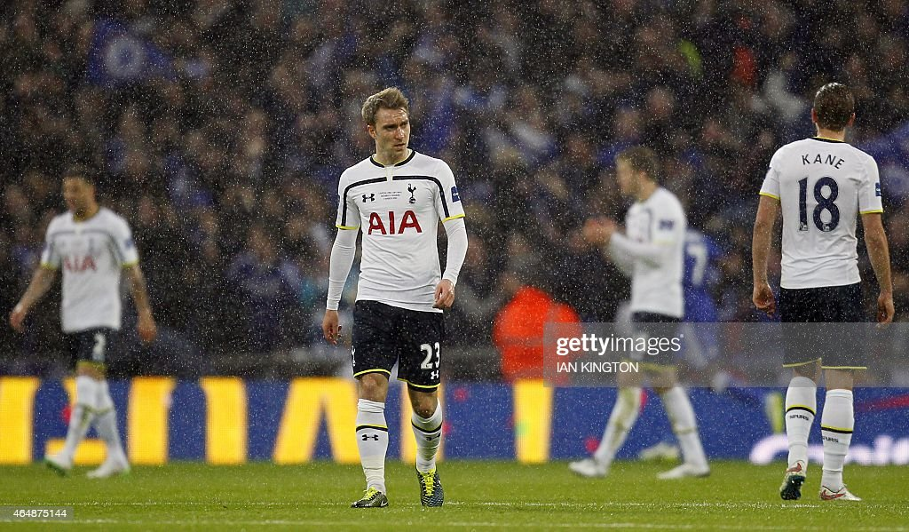 FBL-ENG-LCUP-CHELSEA-TOTTENHAM : News Photo