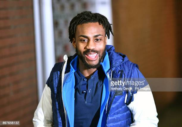 Tottenham Hotspur's Danny Rose arrives at the stadium prior to the Premier League match at Turf Moor Burnley