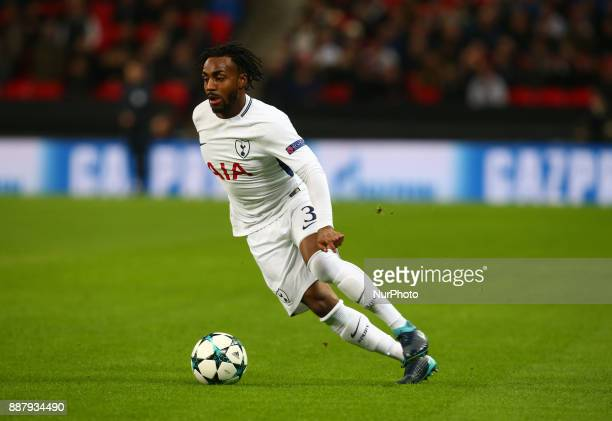 Tottenham Hotspur's Danny Rose during the Champions League Group G match between Tottenham Hotspur and Apoel Nicosia at Wembley stadium London...