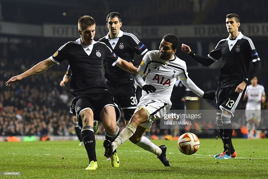 FBL-EUR-C3-TOTTENHAM-PARTIZAN : News Photo