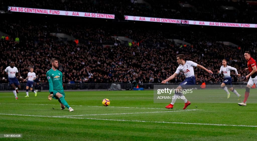 FBL-ENG-PR-TOTTENHAM-MAN UTD : News Photo