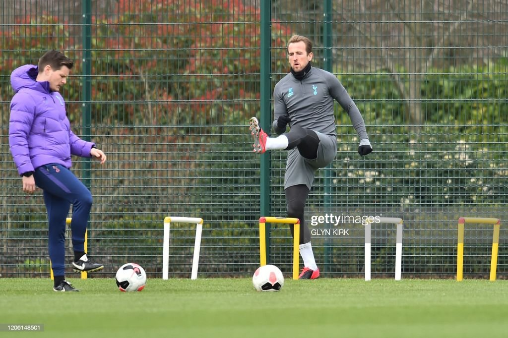 FBL-EUR-C1-TOTTENHAM-TRAINING : News Photo