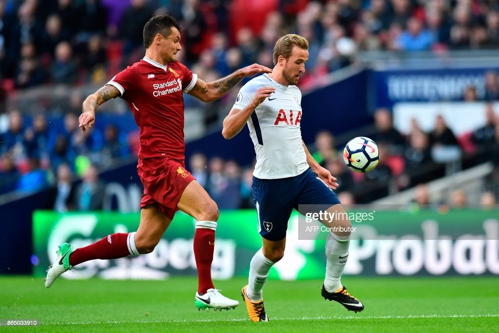 FBL-ENG-PR-TOTTENHAM-LIVERPOOL : News Photo