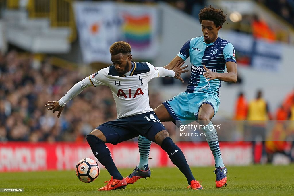 FBL-ENG-FACUP-TOTTENHAM-WYCOMBE : News Photo