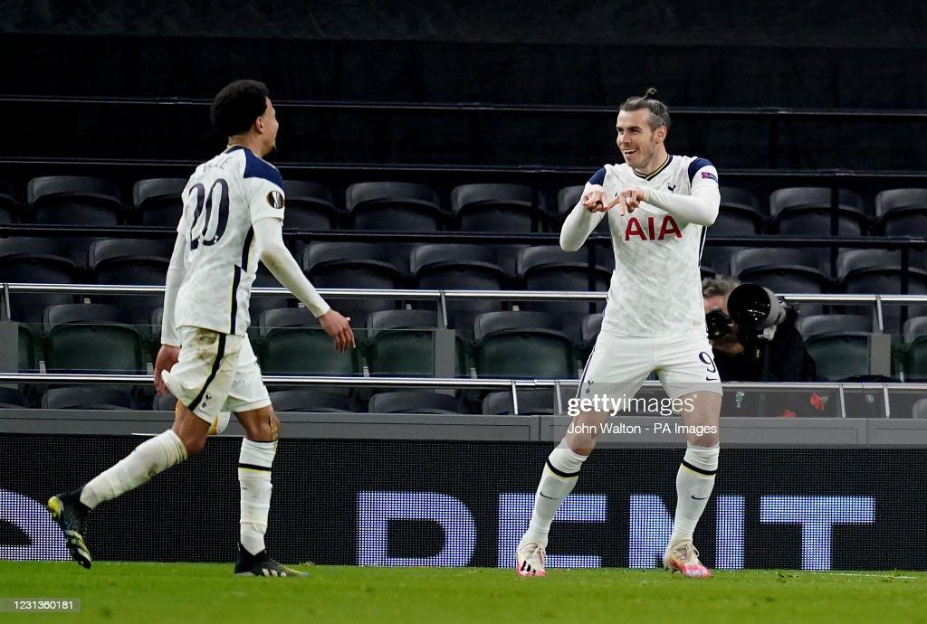 Tottenham Hotspur v Wolfsberger AC - UEFA Europa League - Round of 32 - Second Leg - Tottenham Hotspur Stadium : News Photo