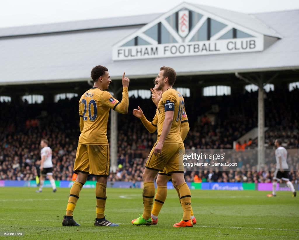 Fulham v Tottenham Hotspur - The Emirates FA Cup Fifth Round : News Photo