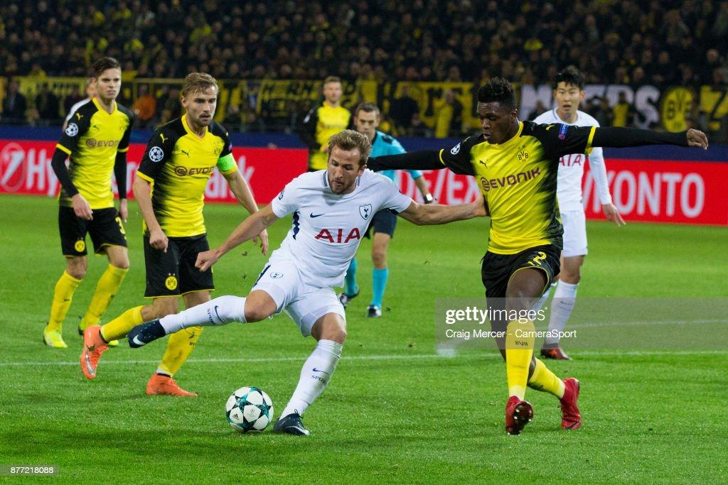 Borussia Dortmund v Tottenham Hotspur - UEFA Champions League : News Photo