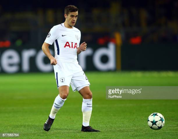Tottenham Hotspur's Harry Winks during UEFA Champion League Group H Borussia Dortmund between Tottenham Hotspur played at Westfalenstadion Dortmund...