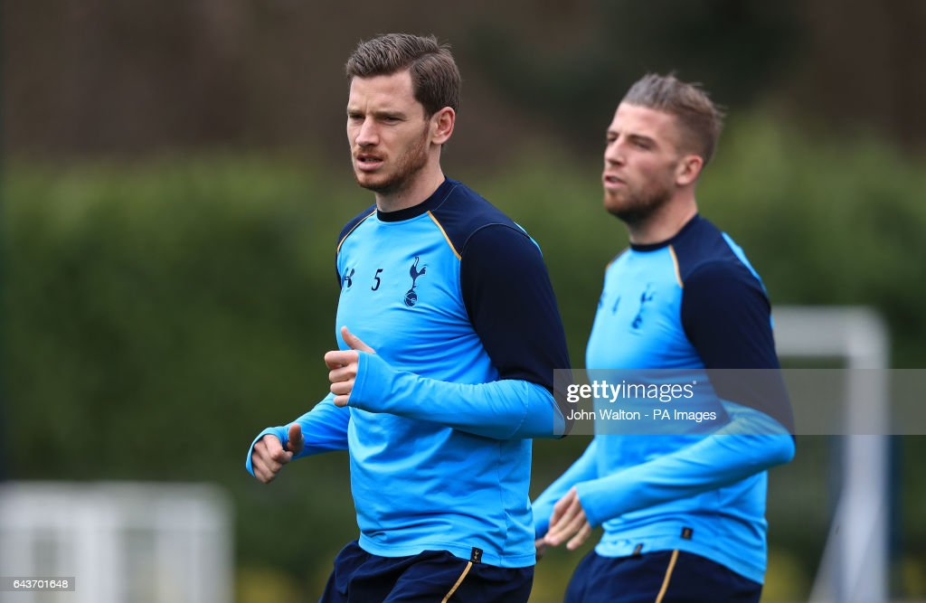Tottenham Training and Press Conference - Enfield Training Ground : News Photo