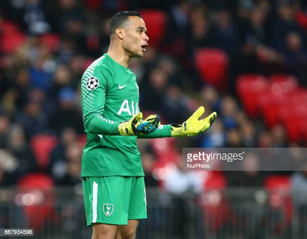 Tottenham Hotspur's Michel Vorm during the Champions League Group G match between Tottenham Hotspur and Apoel Nicosia at Wembley stadium London...