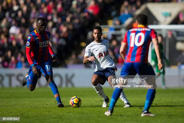 Tottenham Hotspur's Mousa Dembele in action during the Premier League match between Crystal Palace and Tottenham Hotspur at Selhurst Park on February...