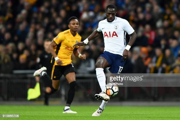 Tottenham Hotspur's Moussa Sissoko in action during the FA Cup Fourth Round replay match between Tottenham Hotspur and Newport County at Wembley...